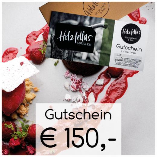 150Euro Gutschein